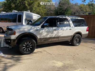 """2016 Ford Expedition - 20x9 2mm - Fuel Hardline - Leveling Kit - 33"""" x 12.5"""""""