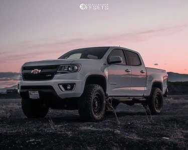 "2020 Chevrolet Colorado - 17x8.5 0mm - Anthem Off-Road Viper - Suspension Lift 4"" - 35"" x 11.5"""