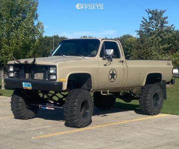 "1984 Chevrolet K20 - 16.5x14 -89mm - Bart Super Trucker - Suspension Lift 12"" - 38"" x 15.5"""