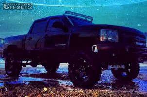 "2012 Chevrolet Silverado 1500 - 20x9 -12mm - XD Rockstar - Suspension Lift 8"" - 35"" x 12.5"""