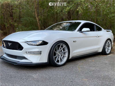2019 Ford Mustang - 20x10 35mm - Stance Sf-01 - Lowering Springs - 285/30R20