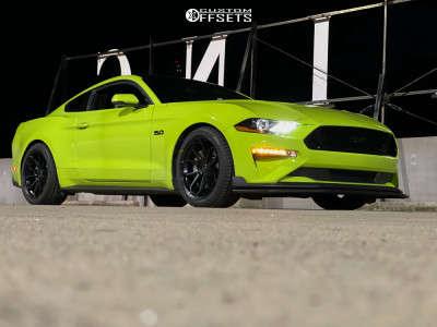 2020 Ford Mustang - 19x9.5 35mm - Momo RF Series Anzio - Lowering Springs - 285/35R19