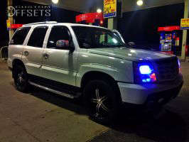 2002 Cadillac Escalade - 22x11 35mm - Forte N/A - Leveling Kit - 305/40R22