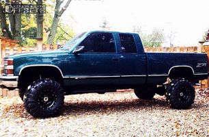 "1997 Chevrolet K1500 - 15x10 -45mm - Mickey Thompson Classic III - Suspension Lift 6"" - 33"" x 15.5"""