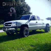 """2004 Chevrolet Silverado 1500 - 20x12 -44mm - Fuel Hostage - Suspension Lift 6"""" - 33"""" x 12.5"""""""