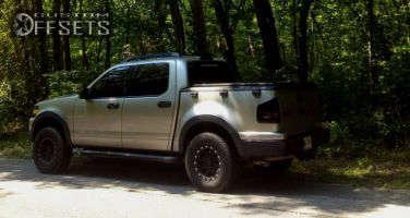 "2008 Ford Explorer Sport Trac - 16x8 0mm - Pro Comp 7031 - Suspension Lift 3"" - 275/45R16"