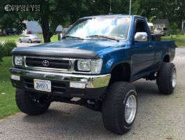 "1994 Toyota Pickup - 15x12 -71mm - American Eagle 58 - Suspension Lift 4.5"" - 31"" x 10.5"""