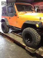 "1999 Jeep Wrangler - 15x10 -114.3mm - Mickey Thompson Classic II - Suspension Lift 4"" - 33"" x 12.5"""