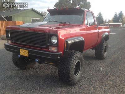"1978 Chevrolet K10 - 15x10 -45mm - Mickey Thompson Classic Baja Lock - Suspension Lift 6"" - 35"" x 12.5"""