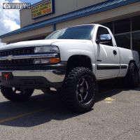 "1999 Chevrolet Silverado 1500 - 20x12 -44mm - Hostile Exile - Suspension Lift 6"" - 33"" x 12.5"""