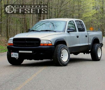 "2004 Dodge Dakota - 15x12 -90mm - Bart D Window - Stock Suspension - 31"" x 10.5"""