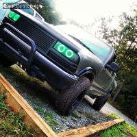 """1998 Chevrolet S10 - 15x8 -19mm - Vision D Window - Leveling Kit - 30"""" x 9.5"""""""