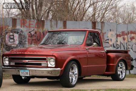 1967 Chevrolet C10 Pickup - 20x9 0mm - Rocket Racing Booster 6 - Lowered 3F / 5R - 275/45R20