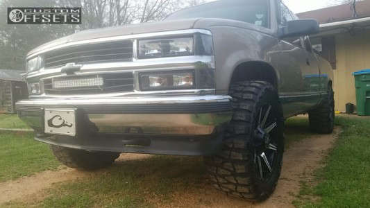 "1996 Chevrolet K1500 - 20x9 0mm - Rbp 98r - Stock Suspension - 33"" x 12.5"""