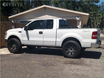 """2006 Ford F-150 - 18x9 -11mm - American Eagle 197 - Leveling Kit - 35"""" x 12.5"""""""