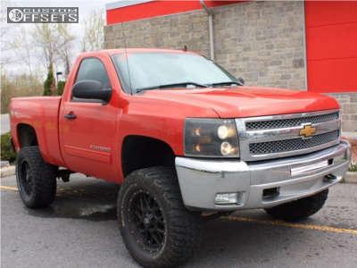 "2013 Chevrolet Silverado 1500 - 20x9 0mm - XD Xd820 - Suspension Lift 7.5"" - 33"" x 12.5"""