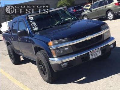 2004 Chevrolet Colorado - 17x8.5 25mm - Mb Wheels Tko - Stock Suspension - 265/75R17