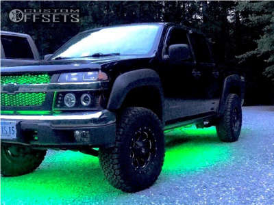 2005 Chevrolet Colorado - 16x8 1mm - Fuel Boost - Leveling Kit - 265/75R16