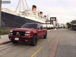 "2006 Chevrolet Silverado 1500 - 17x9 -12mm - Robby Gordon Robby Gordon - Suspension Lift 3"" - 35"" x 12.5"""