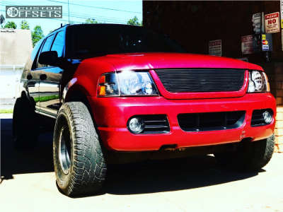 """2004 Ford Explorer - 15x10 -46mm - Eagle Alloy Series 185 - Stock Suspension - 33"""" x 12.5"""""""