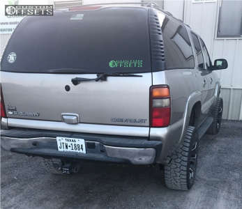 "2003 Chevrolet Suburban - 20x10 -12mm - Xtreme Mudder Xm-318 - Suspension Lift 6"" - 285/55R20"