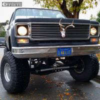 "1978 Chevrolet K10 - 15x12 -71mm - American Eagle 58 - Suspension Lift 6"" - 37"" x 14.5"""