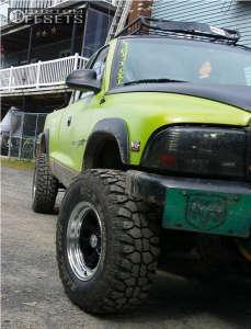 "2000 Dodge Dakota - 15x8 -27mm - Alloy Ion Style 171 - Suspension Lift 2.5"" - 31"" x 10.5"""