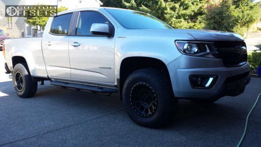 2017 Chevrolet Colorado - 17x8.5 0mm - Method Grid - Leveling Kit - 265/70R17