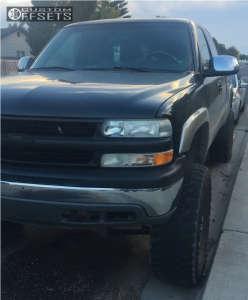 "2002 Chevrolet Silverado 1500 - 18x9 -6mm - Ultra Maverick - Suspension Lift 6"" - 38"" x 13.5"""
