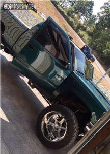 """1996 Chevrolet K1500 - 22x14 -76mm - Hostile Exile - Suspension Lift 6"""" & Body 3"""" - 37"""" x 12.5"""""""