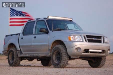 "2004 Ford Explorer Sport Trac - 15x8 -6mm - American Racing Ar-767 - Stock Suspension - 31"" x 10.5"""