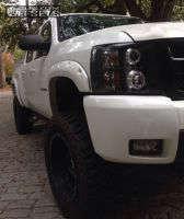 "2013 Chevrolet Silverado 1500 - 18x9 -12mm - Xd Xd128 - Suspension Lift 7.5"" - 35"" x 12.5"""