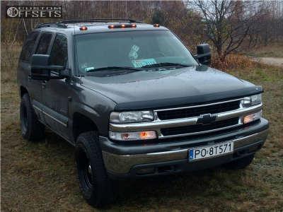 2002 Chevrolet Tahoe - 16x8 -25mm - Speedmax N/a - Leveling Kit - 265/75R16
