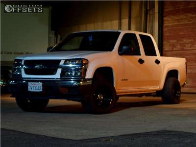 2005 Chevrolet Colorado - 15x10 -76mm - Pro Comp Series 51 - Leveling Kit - 275/50R15