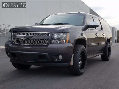 "2011 Chevrolet Suburban - 20x10 -24mm - Xd Xd820 - Suspension Lift 2.5"" - 275/60R20"
