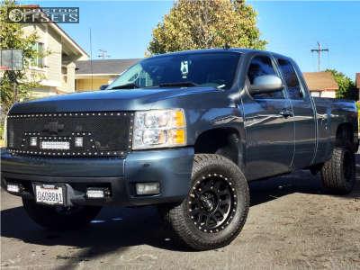 """2008 Chevrolet Silverado 1500 - 18x9 -12mm - Method Mesh - Suspension Lift 3.5"""" - 33"""" x 12.5"""""""