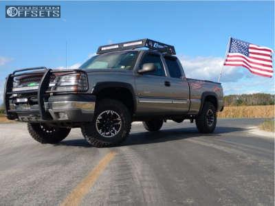 2003 Chevrolet Silverado 1500 - 16x8 0mm - Ultra Maverick - Leveling Kit - 285/75R16