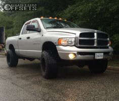 2003 Dodge Ram 3500 - 18x12 -44mm - Fuel Hostage - Stock Suspension - 325/60R18