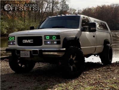 "1992 Chevrolet K2500 - 20x12 -51mm - Toxic Widow - Leveling Kit - 35"" x 13.5"""