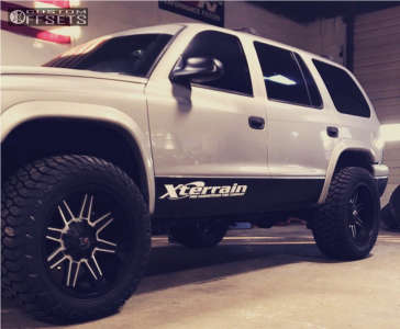 "1999 Dodge Durango - 20x9 0mm - Xd Xd823 - Suspension Lift 3"" - 285/55R20"