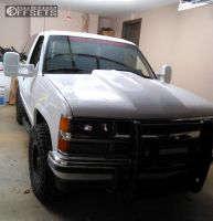 1994 Chevrolet Blazer - 16x8 0mm - Pro Comp Series 31 - Stock Suspension - 285/70R16