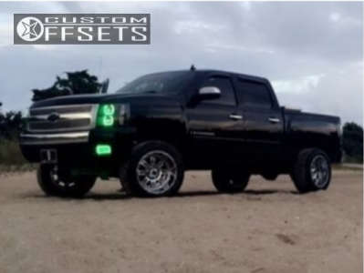 "2007 Chevrolet Silverado 1500 - 20x12 -44mm - XD Riot - Suspension Lift 6"" - 305/55R20"