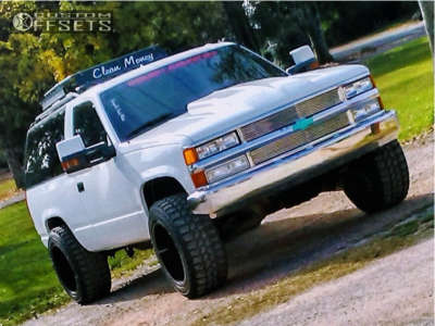 "1994 Chevrolet Blazer - 20x12 -44mm - Gear Off-Road Big Block - Suspension Lift 3"" - 33"" x 12.5"""