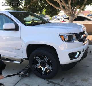 "2017 Chevrolet Colorado - 20x9 0mm - Gear Off-Road Manifold - Suspension Lift 2.5"" - 275/60R20"