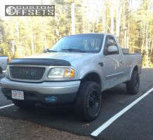 2000 Ford F-150 - 17x9 -12mm - Red Dirt Road Rd01 - Leveling Kit - 265/75R17