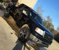 """2006 Ford F-150 - 20x9 0mm - Panther Vector - Leveling Kit & Body Lift - 33"""" x 12.5"""""""