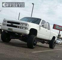 "1994 Chevrolet K1500 - 20x12 -44mm - Fuel Hostage - Suspension Lift 7"" - 33"" x 12.5"""