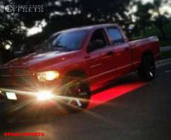 2002 Dodge Ram 1500 - 20x9.5 19mm - Spaced Out Stockers Spaced Out Stockers - Stock Suspension - 275/70R20