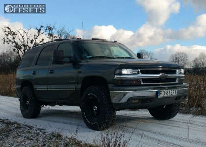 2002 Chevrolet Tahoe - 16x8 -25mm - Speedmax Other - Leveling Kit - 285/75R16