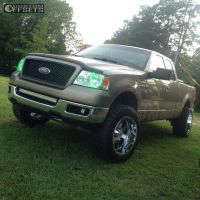 "2005 Ford F-150 - 20x12 -44mm - Moto Metal Mo962 - Leveling Kit - 33"" x 12.5"""